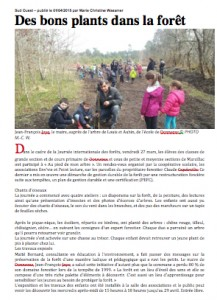 article Sud Ouest print